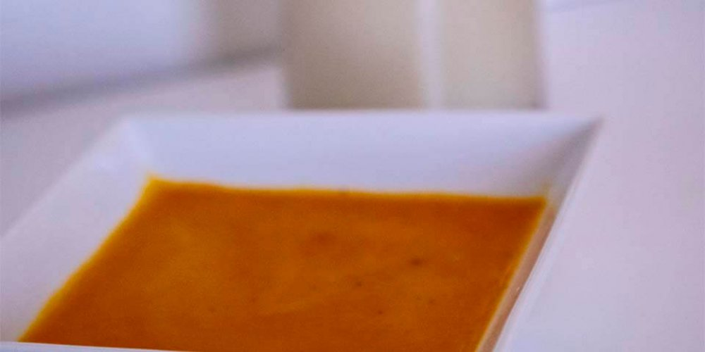 Tekvicovo-maková polievka