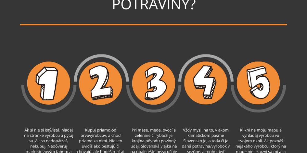 Aké sú to slovenské potraviny?