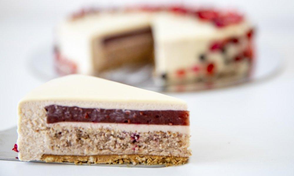 Lieskovo-oriešková čokoládová torta