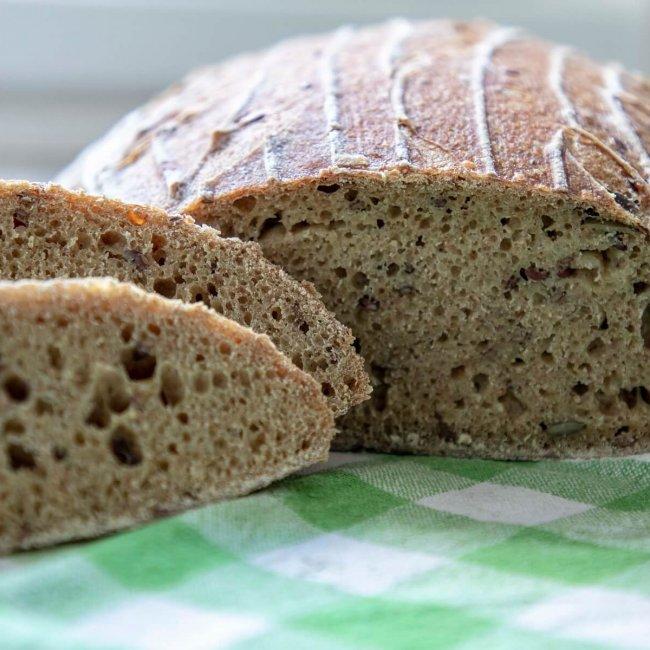 Tekvicový chlieb z kvásku