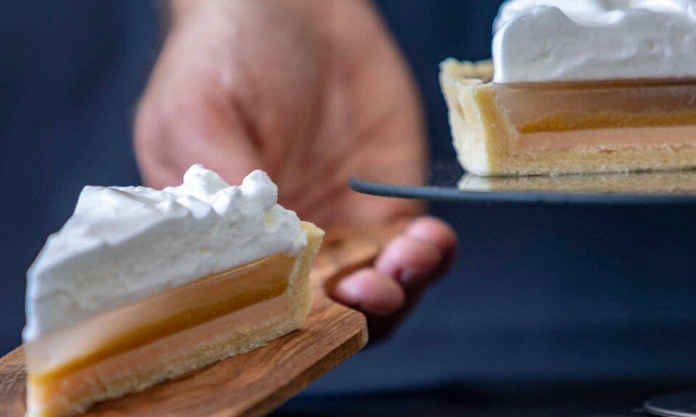 Rebarborovo-citrónový tart